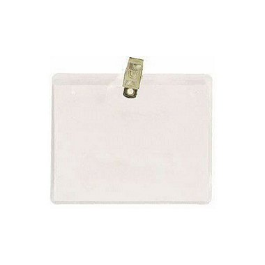 Badge Holder - 4 x 3 Horizontal - Clip