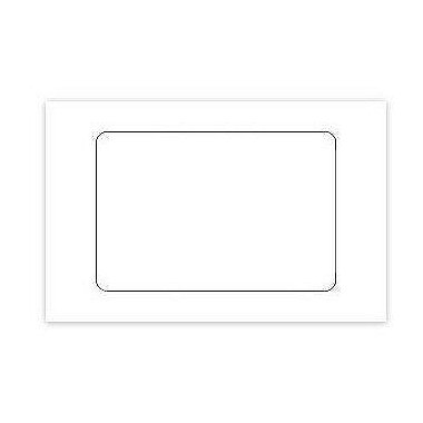 Adhesive Label - Blank White - 3 x 2