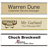 Print-and-Post Office Signage - Wall-Mounted