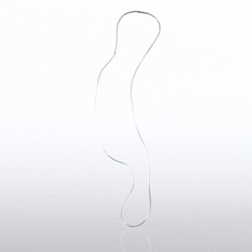 Clear Plastic Neck Tube Breakaway Lanyard