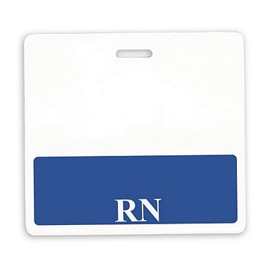Position Identity Badge - RN Registered Nurse