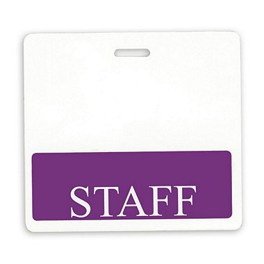 Position Identity Badge - Staff