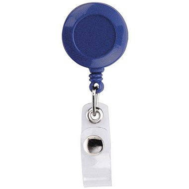Badge Reel - Round - Blue