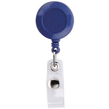 Badge Reel - Round - Blue