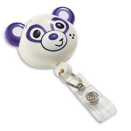 Panda Pedia Pals Badge Reel