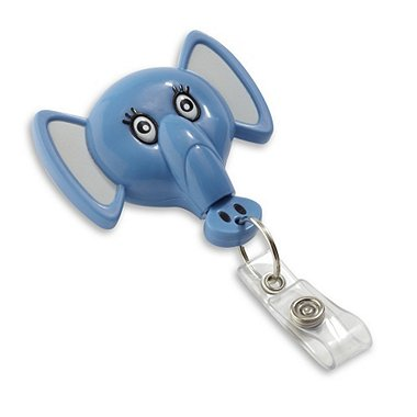 Pedia Pals Badge Reel - Elephant
