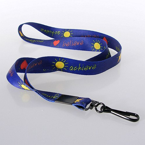 Imagine Believe Achieve Themed Lanyard