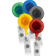 Badge Reel - Translucent