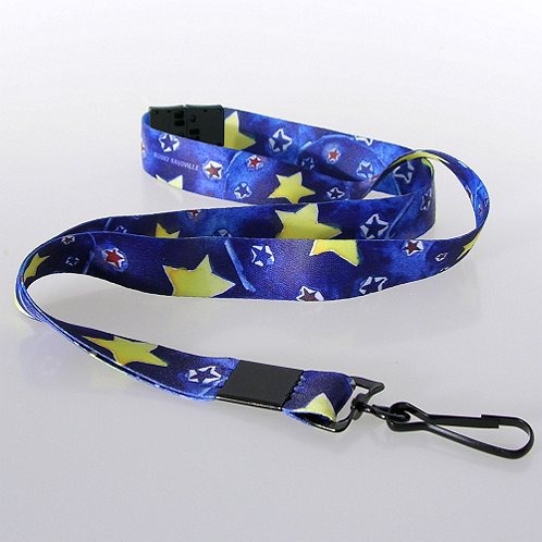MTD Star Themed Breakaway Lanyard w/ Hook