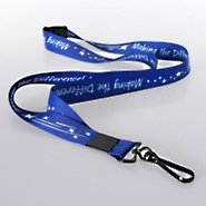Themed Lanyard - MTD Blue Breakaway w/ Hook