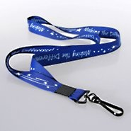 Themed Lanyard - MTD Blue w/ Hook