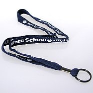 Premium Custom Lanyards - 1/2 Inch Woven Cotton