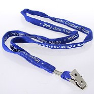 Smart Buy Custom Lanyards - 3/8 Inch Cotton