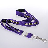 Smart Buy Custom Lanyards - 3/4 Inch Cotton