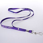 Smart Buy Custom Lanyards - 3/8 Inch Nylon
