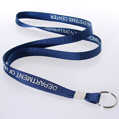 Smart Buy Custom Lanyards - 1/2 Inch Nylon