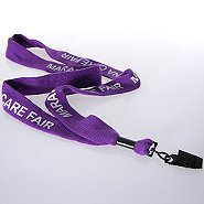 Premium Custom Lanyards - 1? Woven Cotton