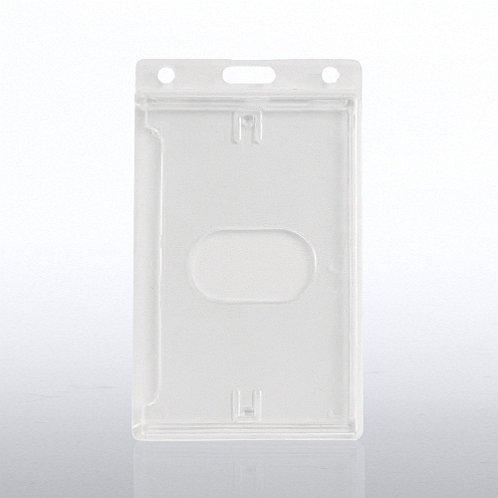 Vertical Hard Card Badge Holder