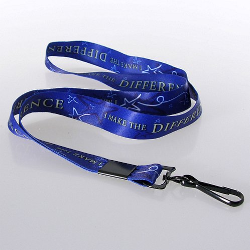 I Make the Difference Themed Lanyard