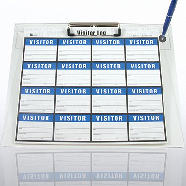Secure Log-In Visitor System