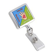 Fashion Badge Reel - Helping Hands