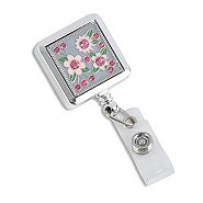 Fashion Badge Reel - Blooming Florals - Roses