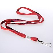Lanyard - Quick Ship Custom 3/8 Inch Cotton