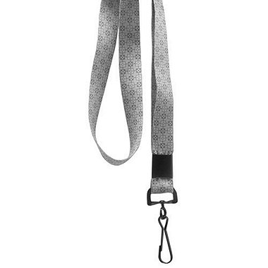Designer Lanyards - Gray Checkers