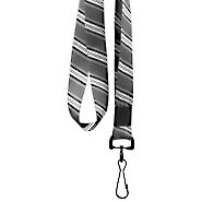 Designer Lanyards - Gray Stripes