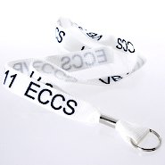 Lanyard - Quick Ship Custom 3/4 Inch Nylon