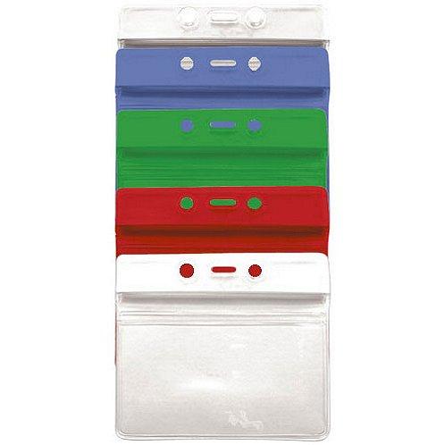 Horizontal - Credit Card Sealable Badge Holder