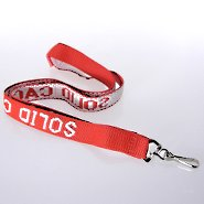 Embroidered Custom Lanyards - 3/4 inch