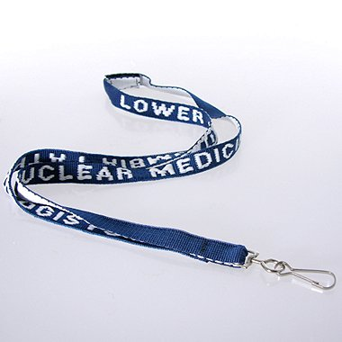 Embroidered Custom Lanyards - 1/2 inch