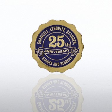 Custom Anniversary Seal - Scallop