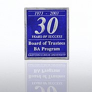 Custom Anniversary Seal - Rectangle