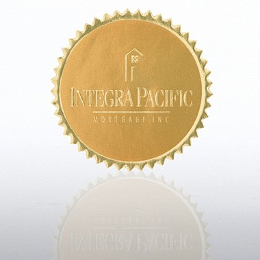 Custom Embossed Seal - Medium