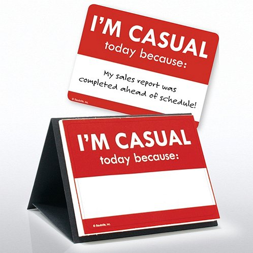 I Earned a Casual Day Sticker Set