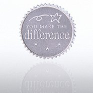 Certificate Seal - You Make the Difference - Silver