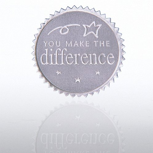You Make the Difference Silver Certificate Seal