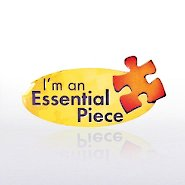 Lapel Pin - I Am An Essential Piece - Multi Color