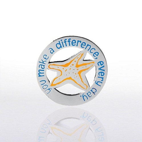 You Make a Difference, Every Day. Lapel Pin