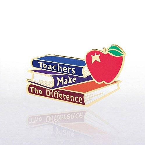 Teachers Make the Difference Lapel Pin
