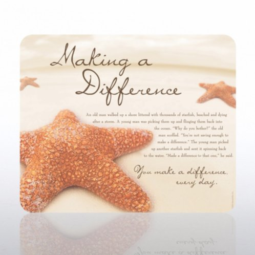 Starfish: Making a Difference Mouse Pad at Baudville.com