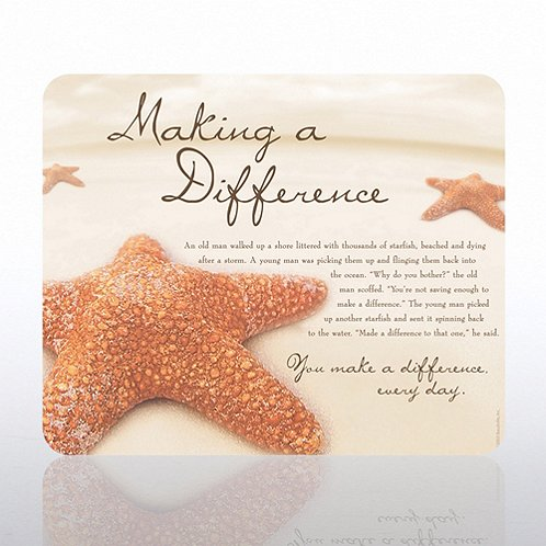 Starfish: Making a Difference Mouse Pad