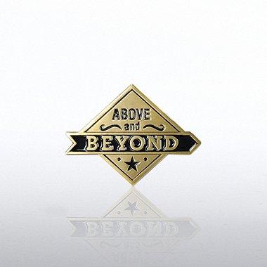 Lapel Pin Above & Beyond Diamond