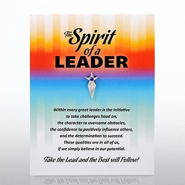 Character Pin - Spirit of a Leader