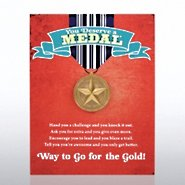 Character Pin - You Deserve a Medal