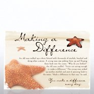 Character Pin - Starfish: Making a Difference