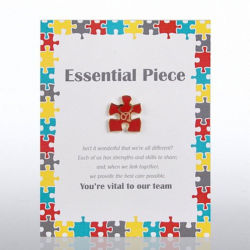Essential Piece Healthcare Character Pin