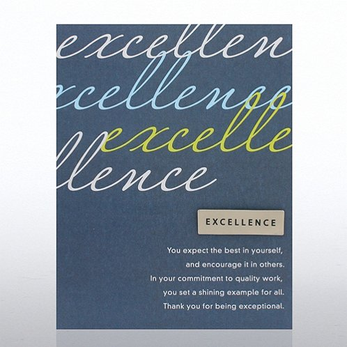 Excellence Character Pin